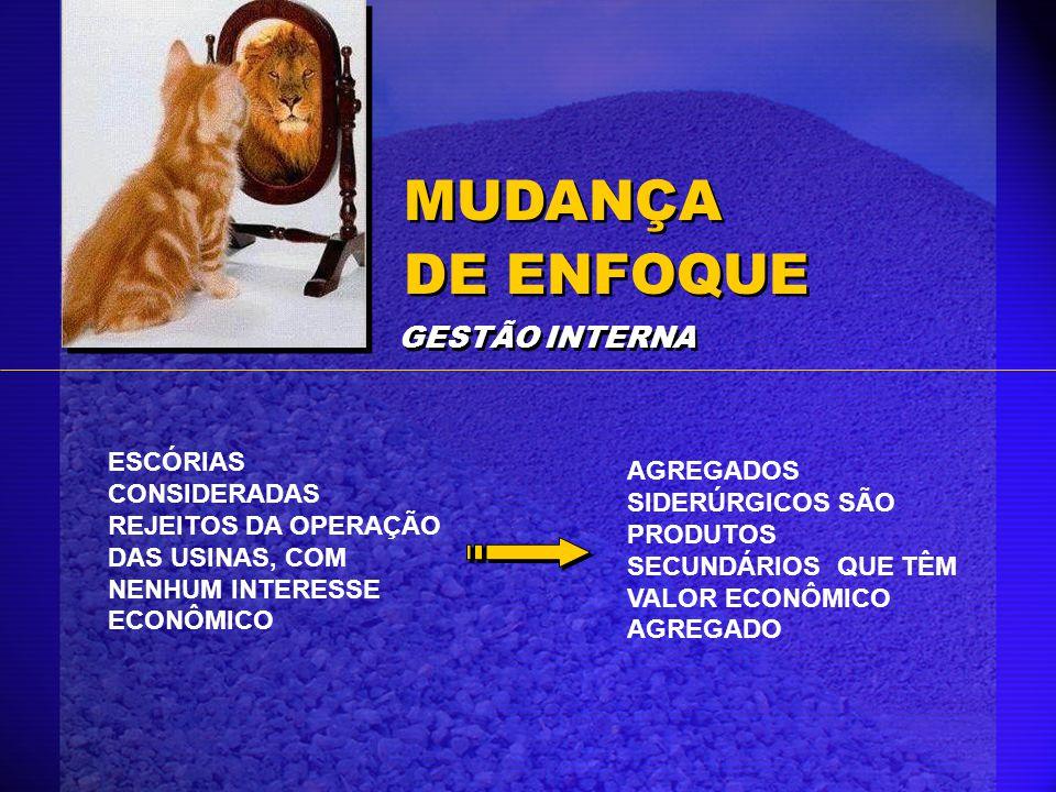 MUDANÇA DE ENFOQUE GESTÃO INTERNA