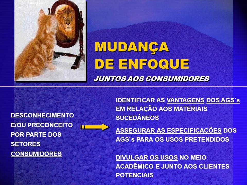 MUDANÇA DE ENFOQUE JUNTOS AOS CONSUMIDORES