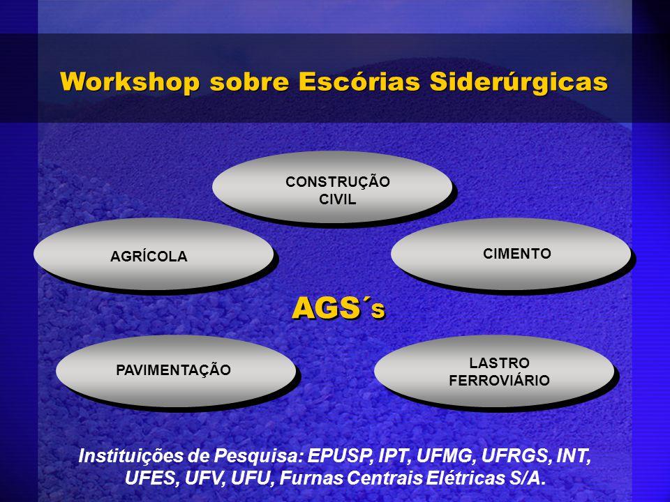 Workshop sobre Escórias Siderúrgicas