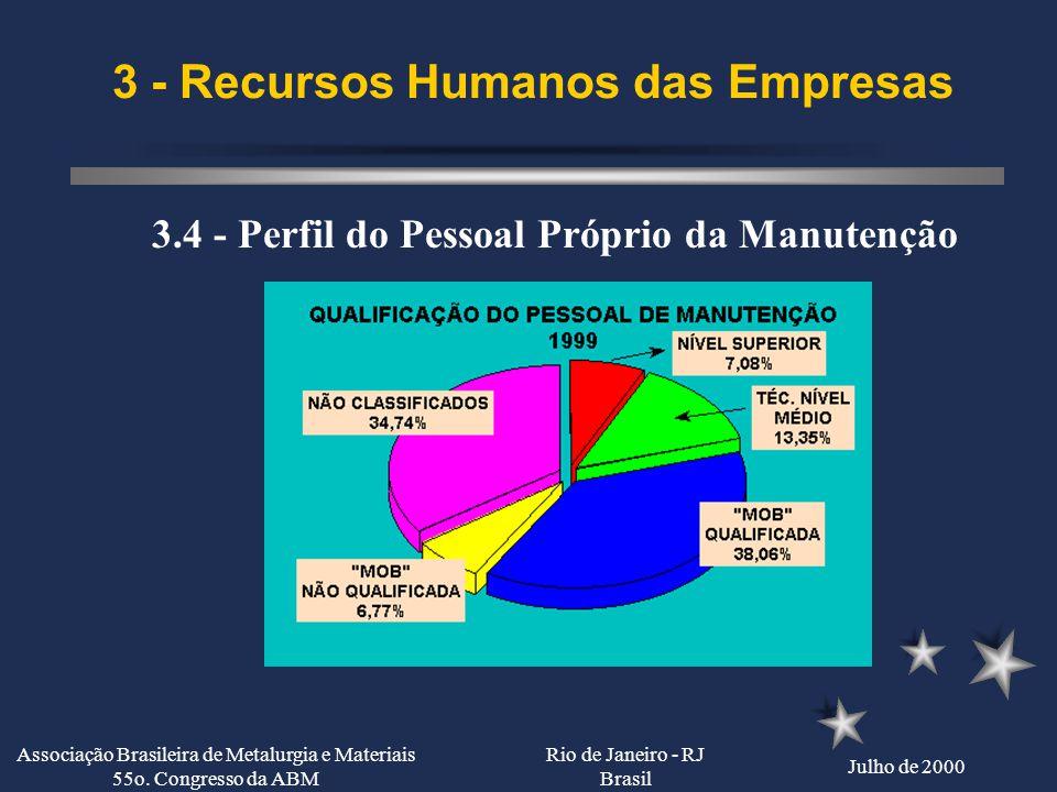 3 - Recursos Humanos das Empresas