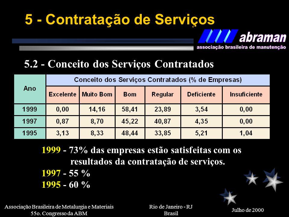5 - Contratação de Serviços