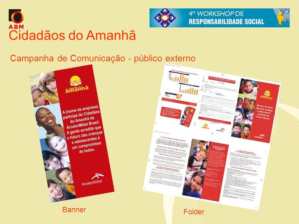 Cidadãos do Amanhã Campanha de Comunicação - público externo Banner