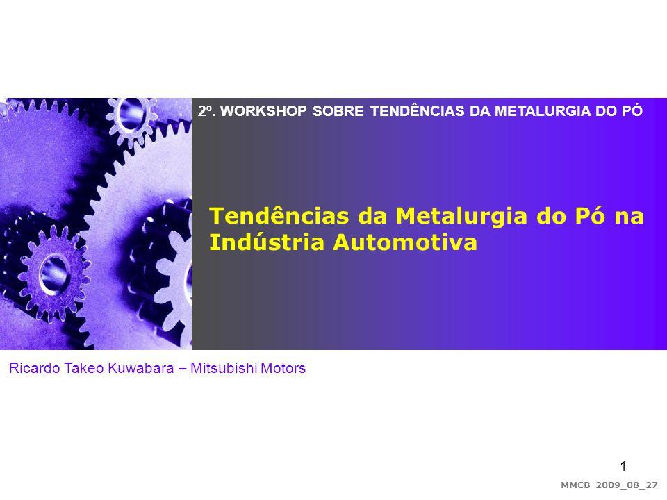 Tendências da Metalurgia do Pó na Indústria Automotiva
