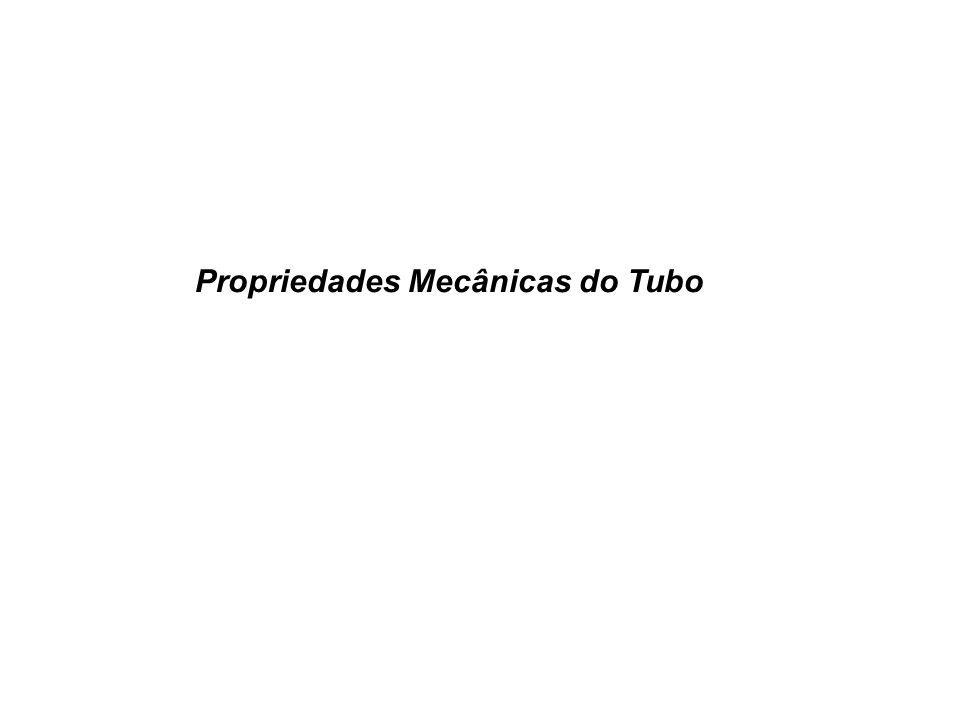 Propriedades Mecânicas do Tubo