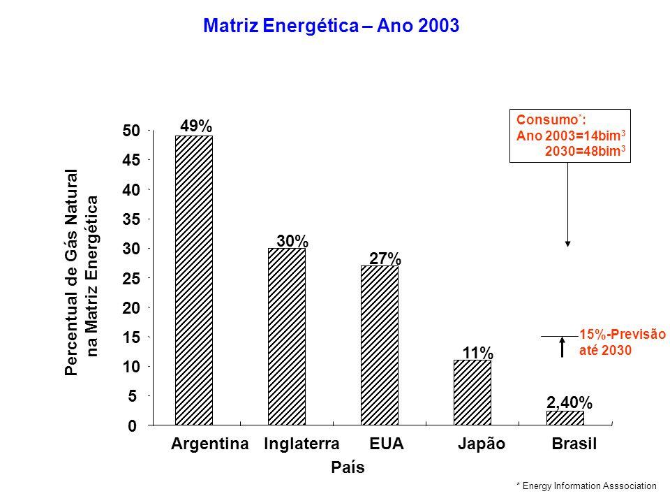 Matriz Energética – Ano 2003