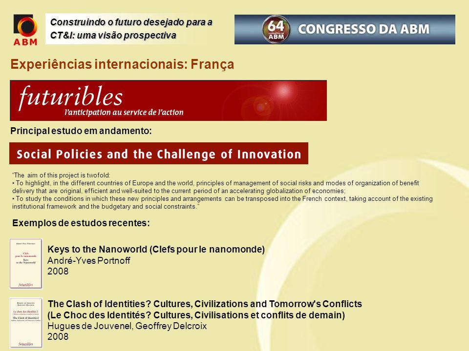 Experiências internacionais: França