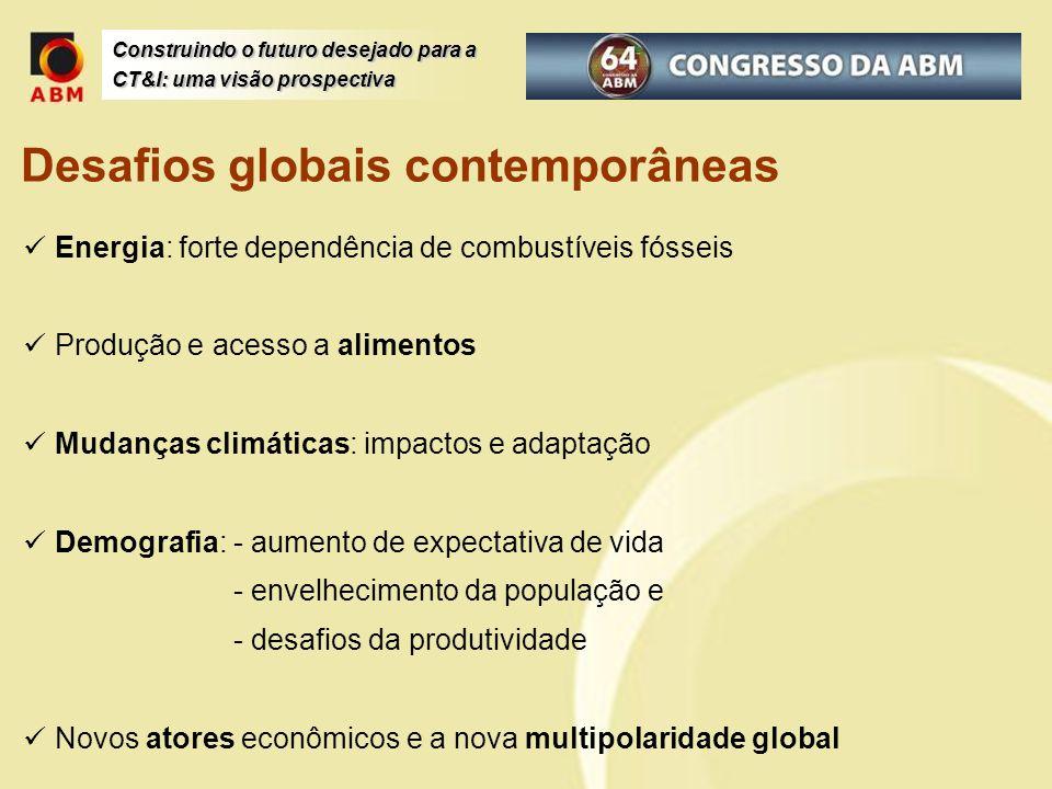 Desafios globais contemporâneas