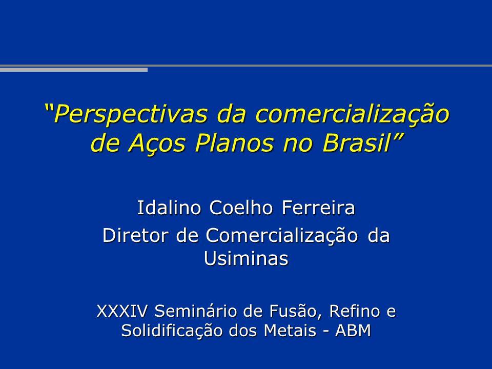 Perspectivas da comercialização de Aços Planos no Brasil