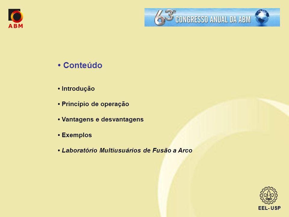 • Conteúdo • Introdução • Princípio de operação