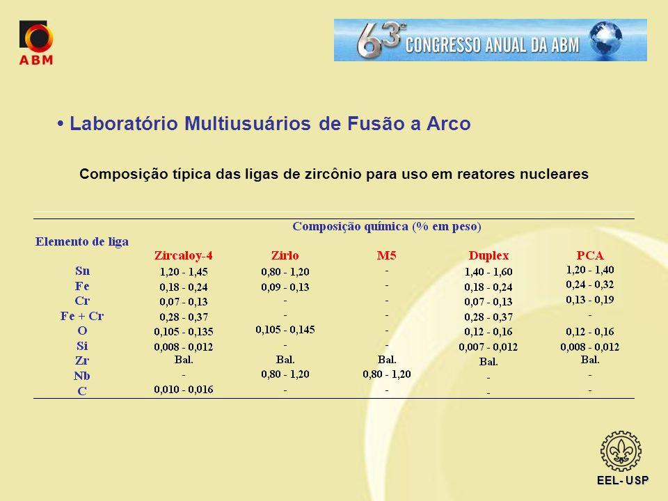 • Laboratório Multiusuários de Fusão a Arco
