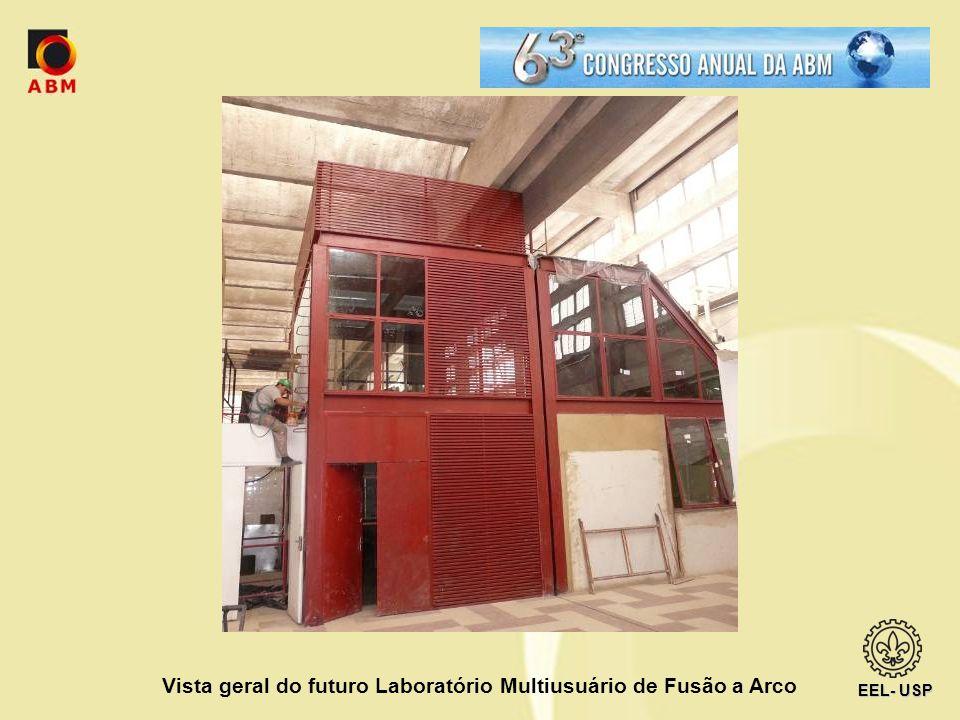 Vista geral do futuro Laboratório Multiusuário de Fusão a Arco