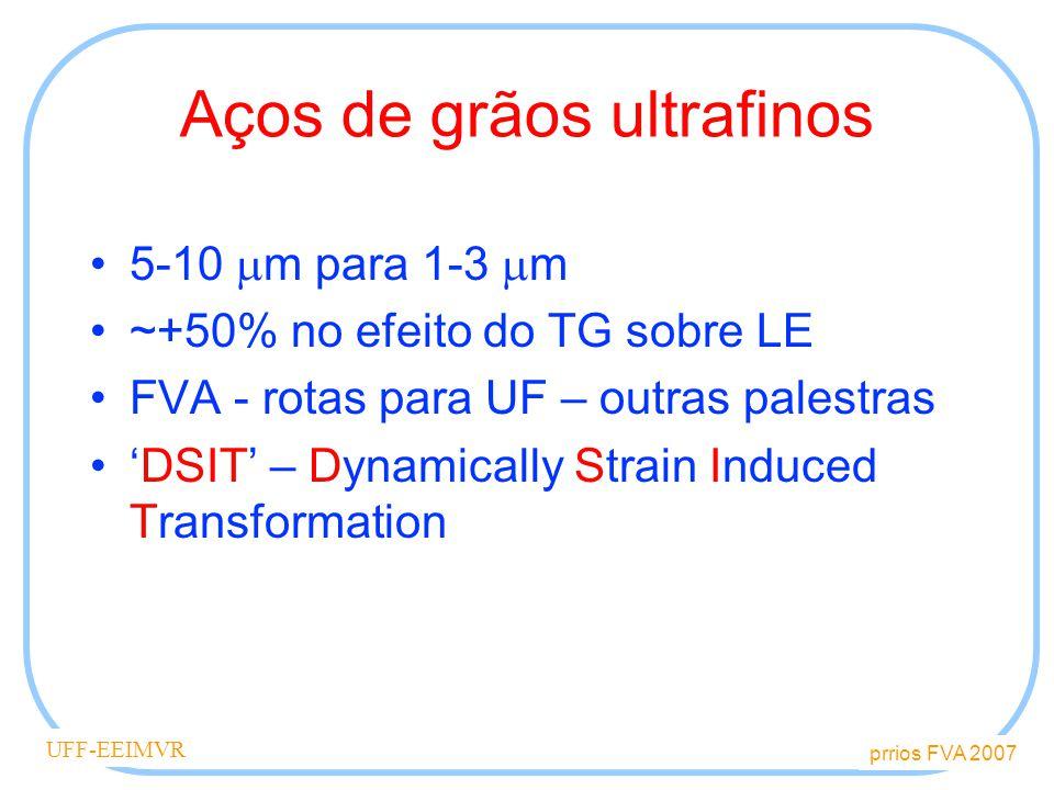 Aços de grãos ultrafinos