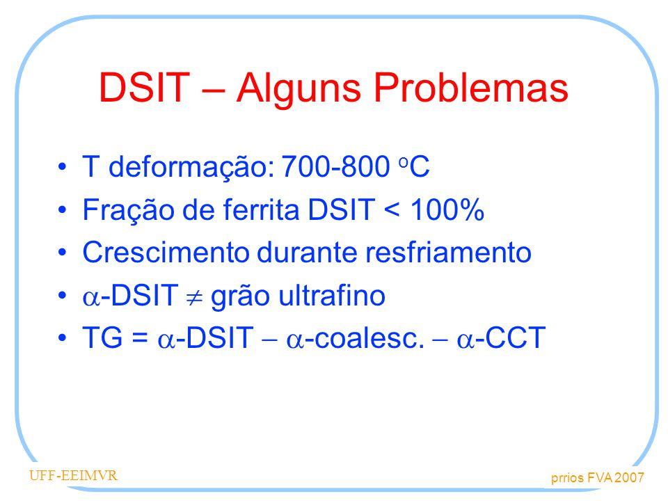 DSIT – Alguns Problemas