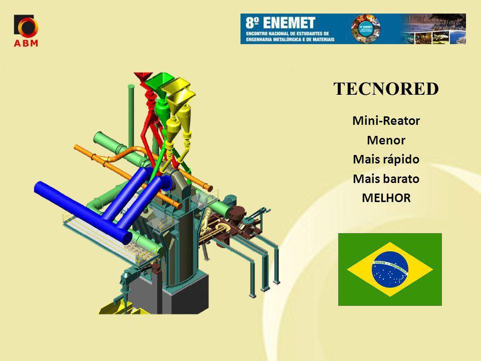 TECNORED Mini-Reator Menor Mais rápido Mais barato MELHOR