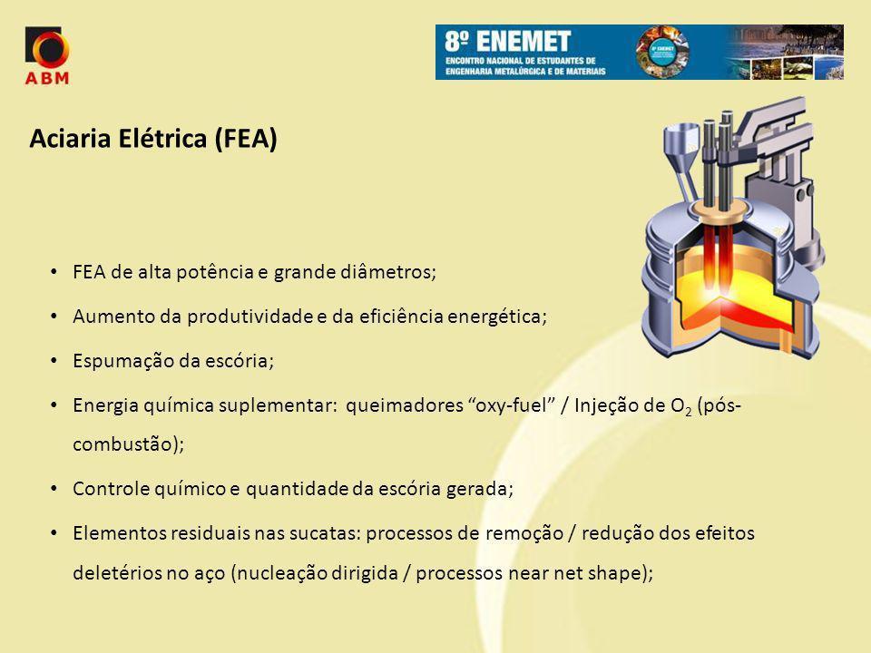 Aciaria Elétrica (FEA)