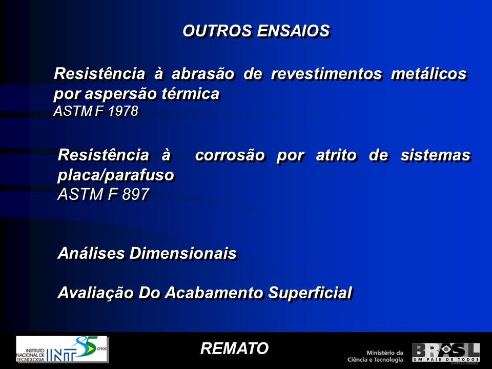 Resistência à abrasão de revestimentos metálicos por aspersão térmica