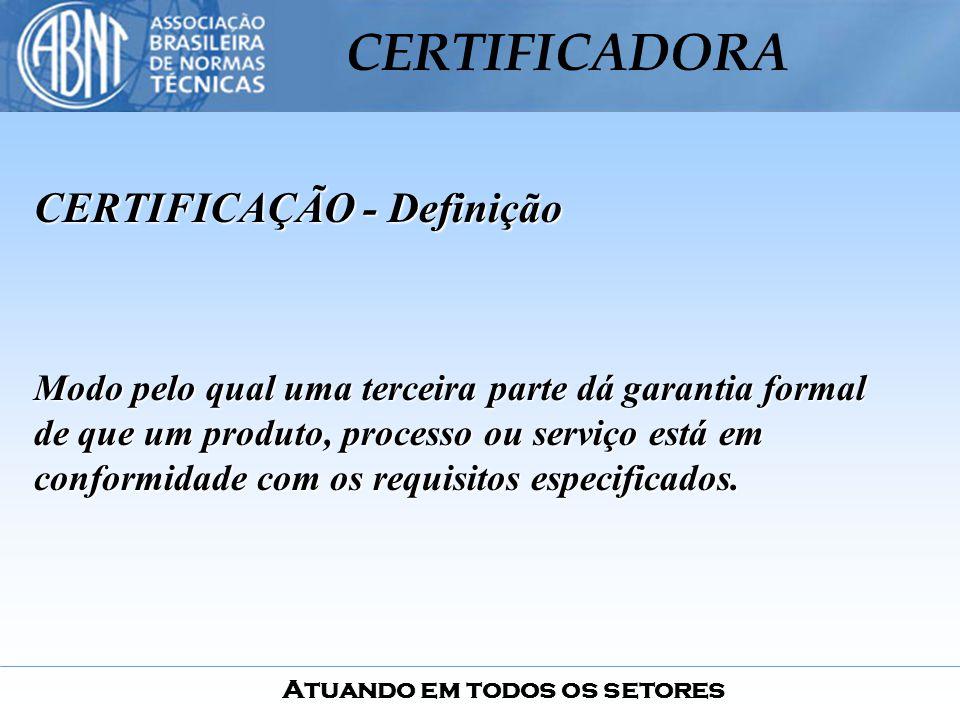 CERTIFICAÇÃO - Definição