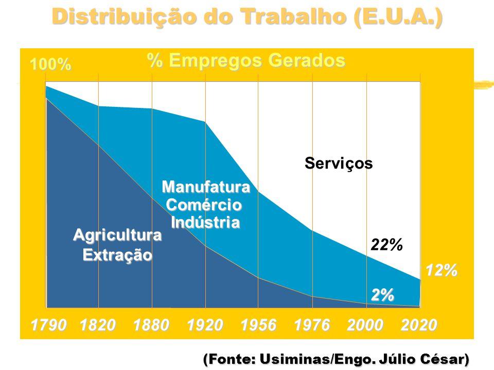 Distribuição do Trabalho (E.U.A.)