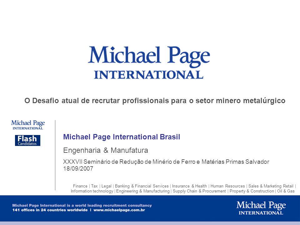 Michael Page International Brasil Engenharia & Manufatura