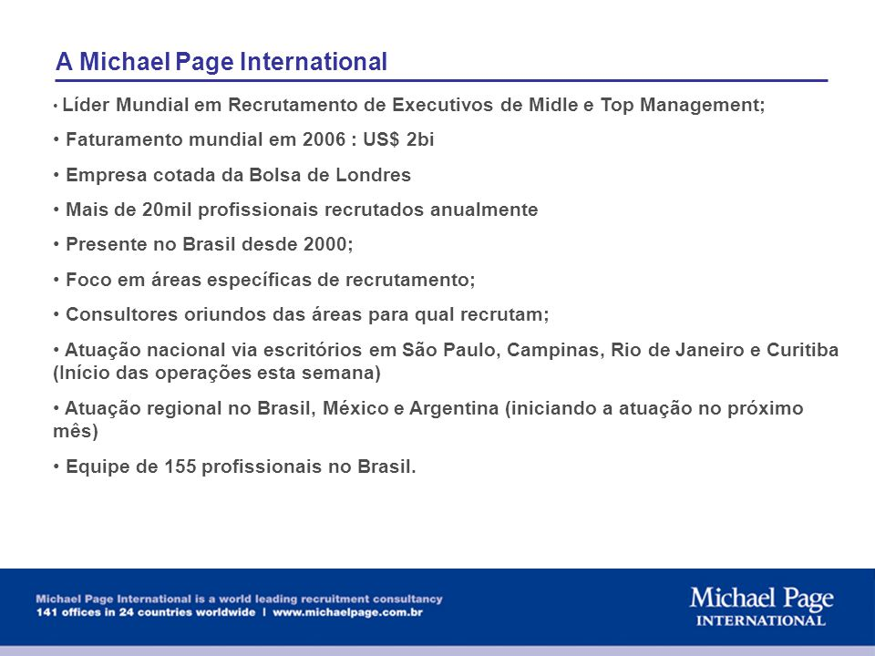 A Michael Page International