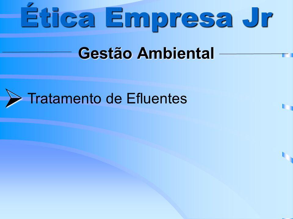 Ética Empresa Jr Gestão Ambiental  Tratamento de Efluentes