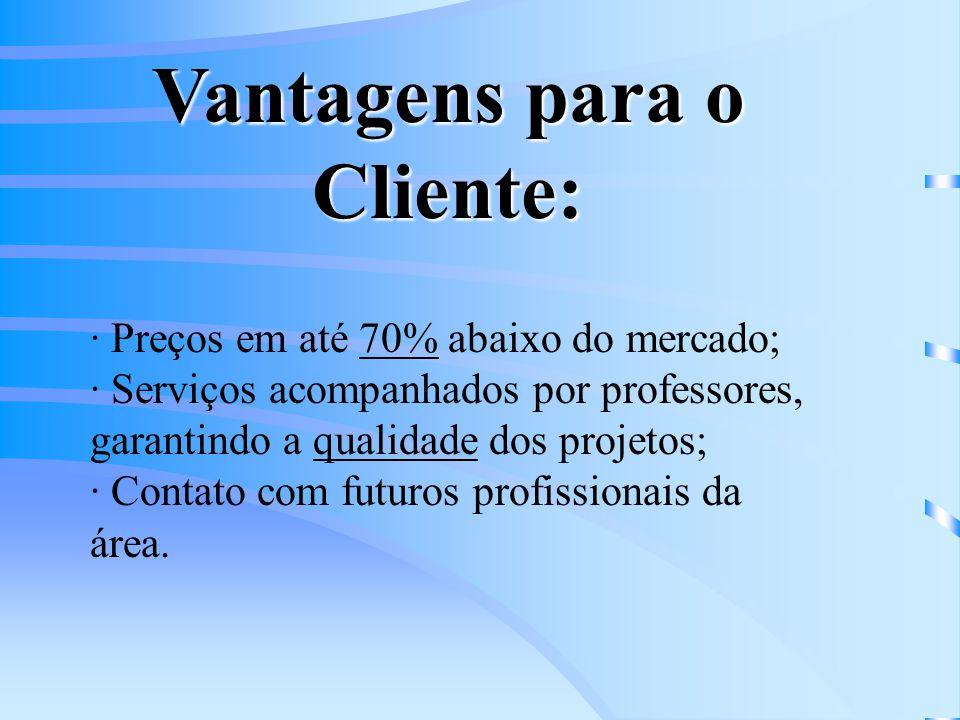 Vantagens para o Cliente: