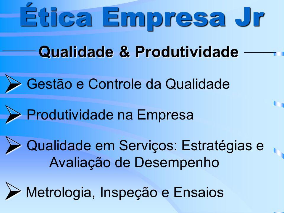 Ética Empresa Jr     Qualidade & Produtividade