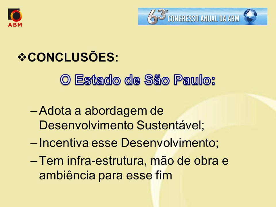 O Estado de São Paulo: CONCLUSÕES:
