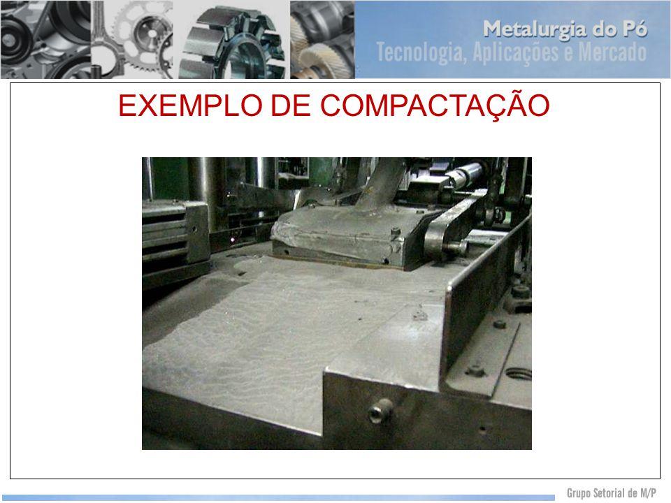 EXEMPLO DE COMPACTAÇÃO