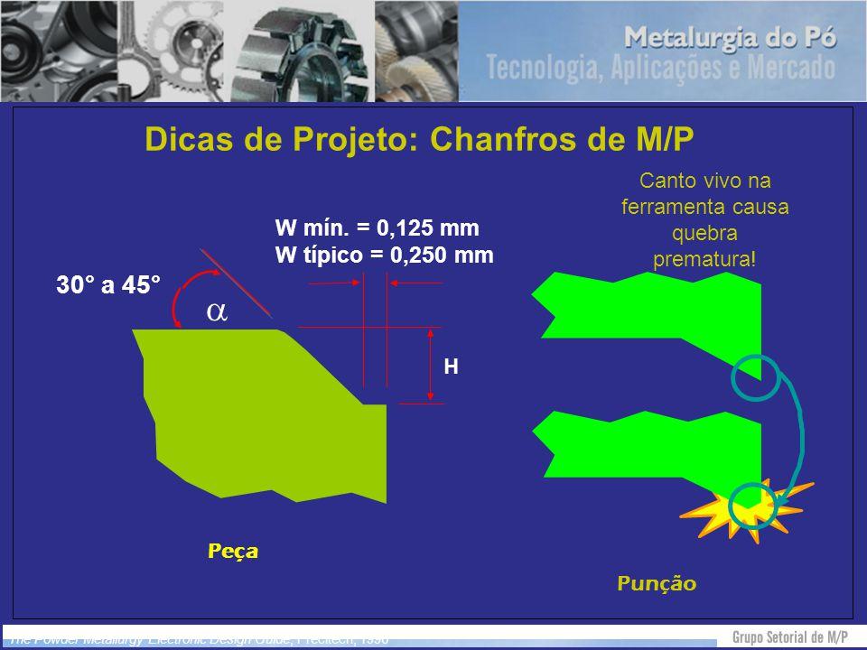 Dicas de Projeto: Chanfros de M/P