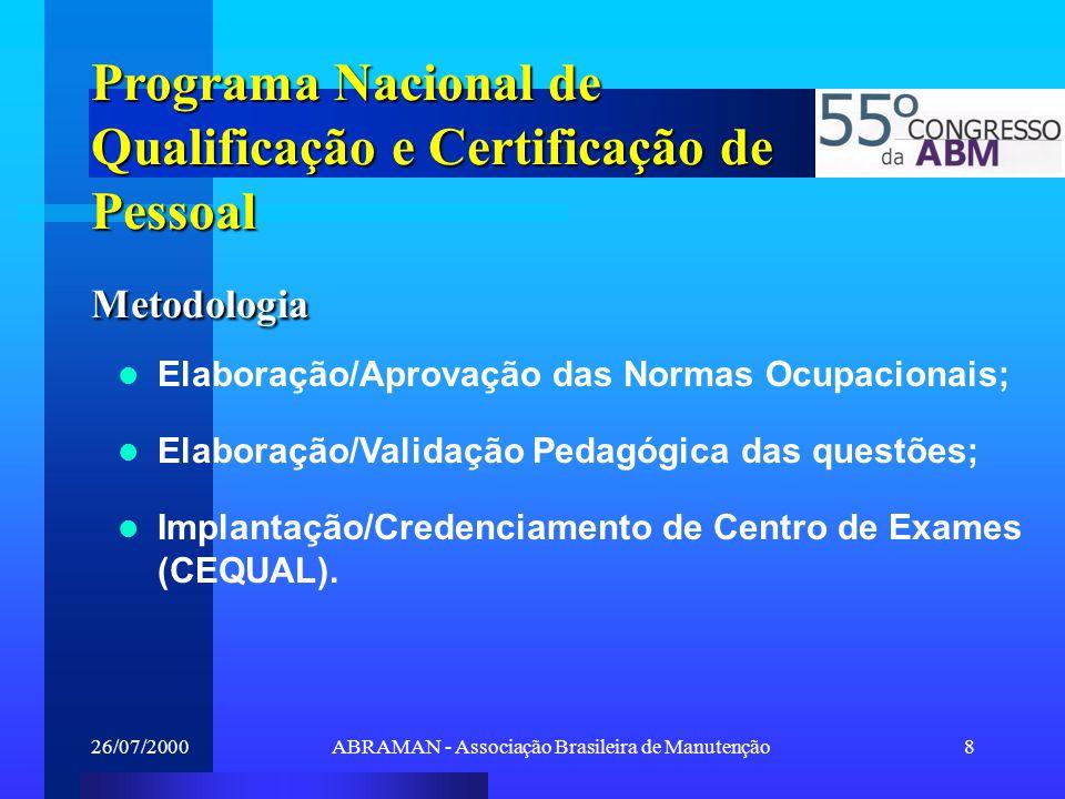 ABRAMAN - Associação Brasileira de Manutenção