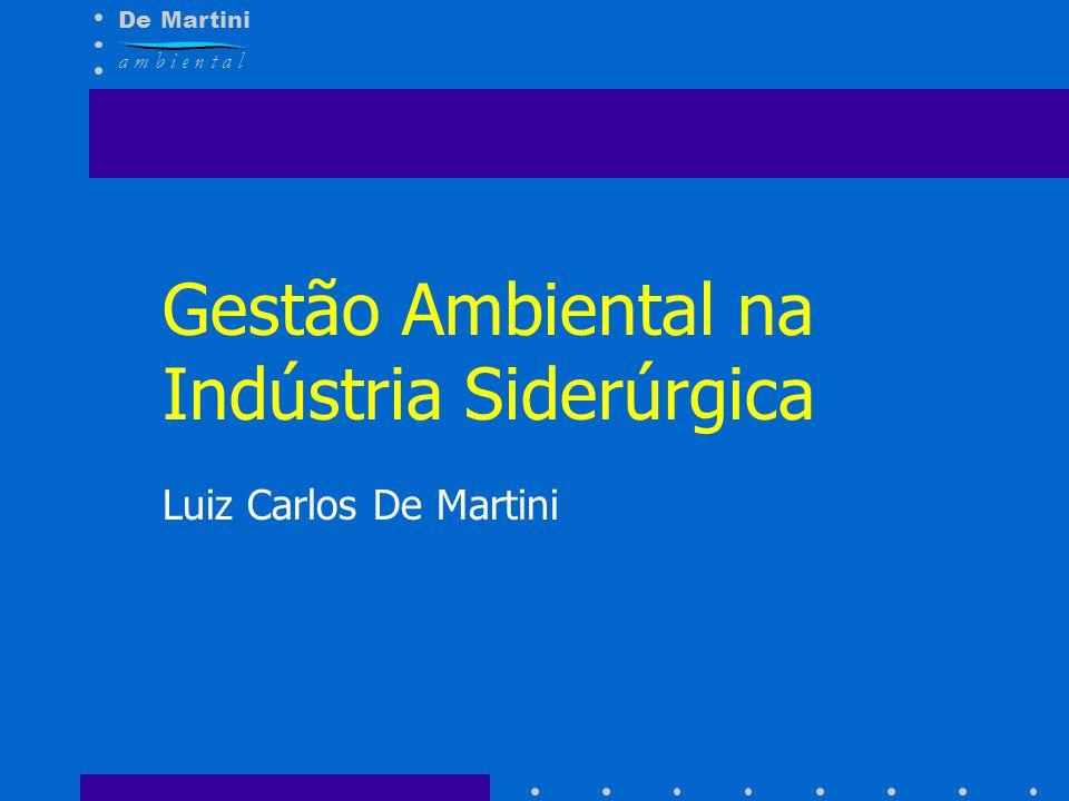 Gestão Ambiental na Indústria Siderúrgica