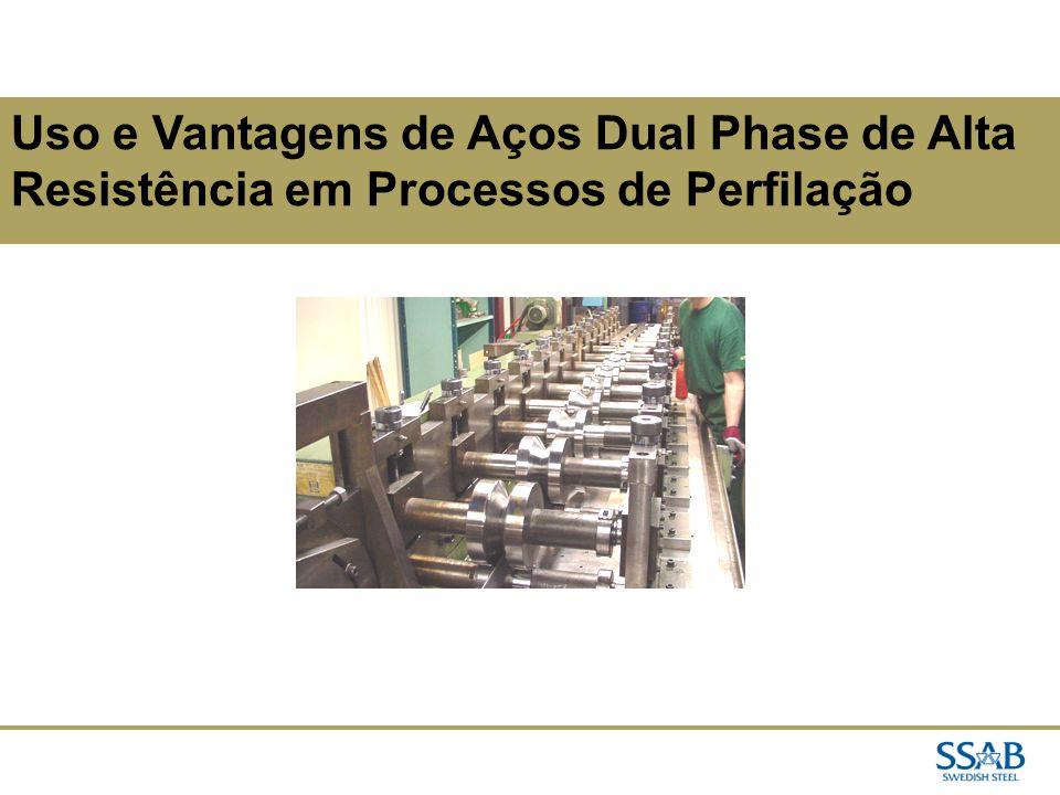 02/04/2017 Uso e Vantagens de Aços Dual Phase de Alta Resistência em Processos de Perfilação