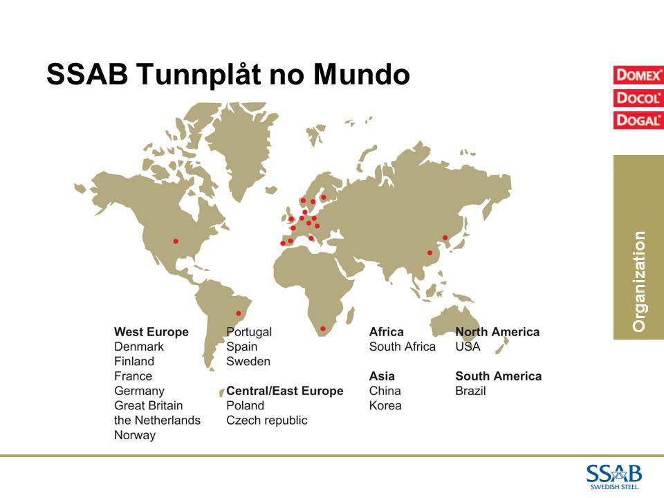 02/04/2017 SSAB Tunnplåt no Mundo Organization