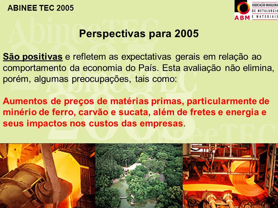 Perspectivas para 2005