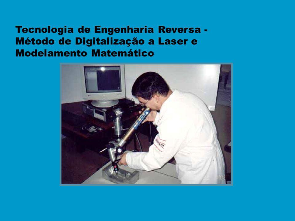 Tecnologia de Engenharia Reversa - Método de Digitalização a Laser e Modelamento Matemático