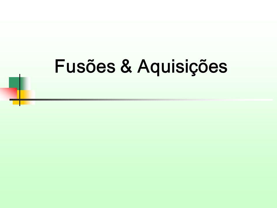 Fusões & Aquisições