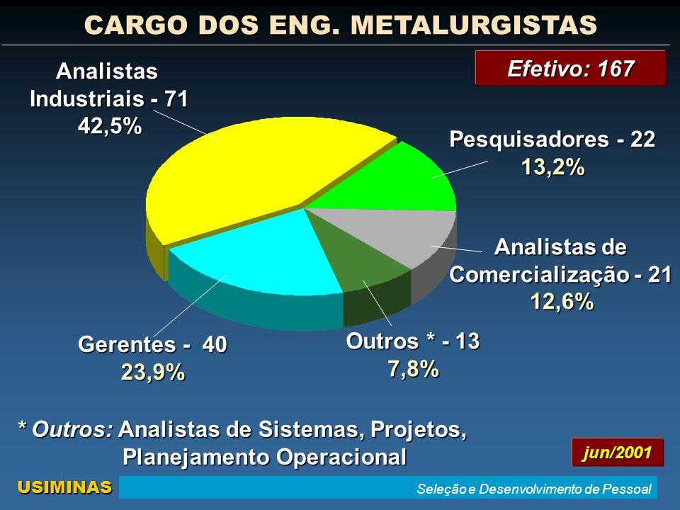 CARGO DOS ENG. METALURGISTAS