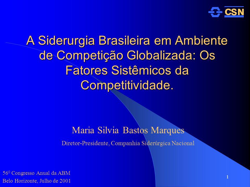 560 Congresso Anual da ABM Belo Horizonte, Julho de 2001