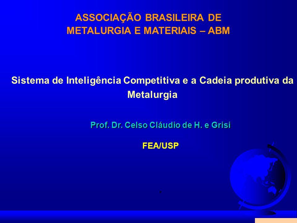 ASSOCIAÇÃO BRASILEIRA DE METALURGIA E MATERIAIS – ABM
