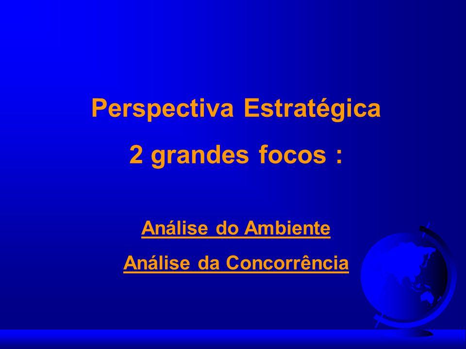 Perspectiva Estratégica Análise da Concorrência