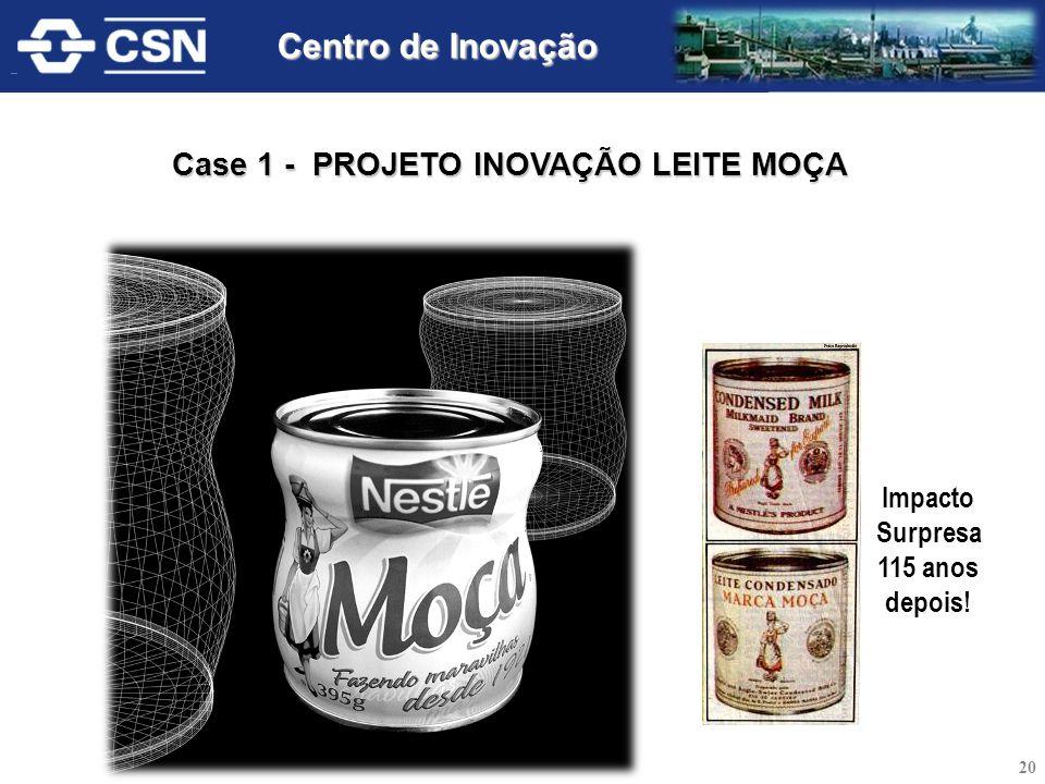 Case 1 - PROJETO INOVAÇÃO LEITE MOÇA