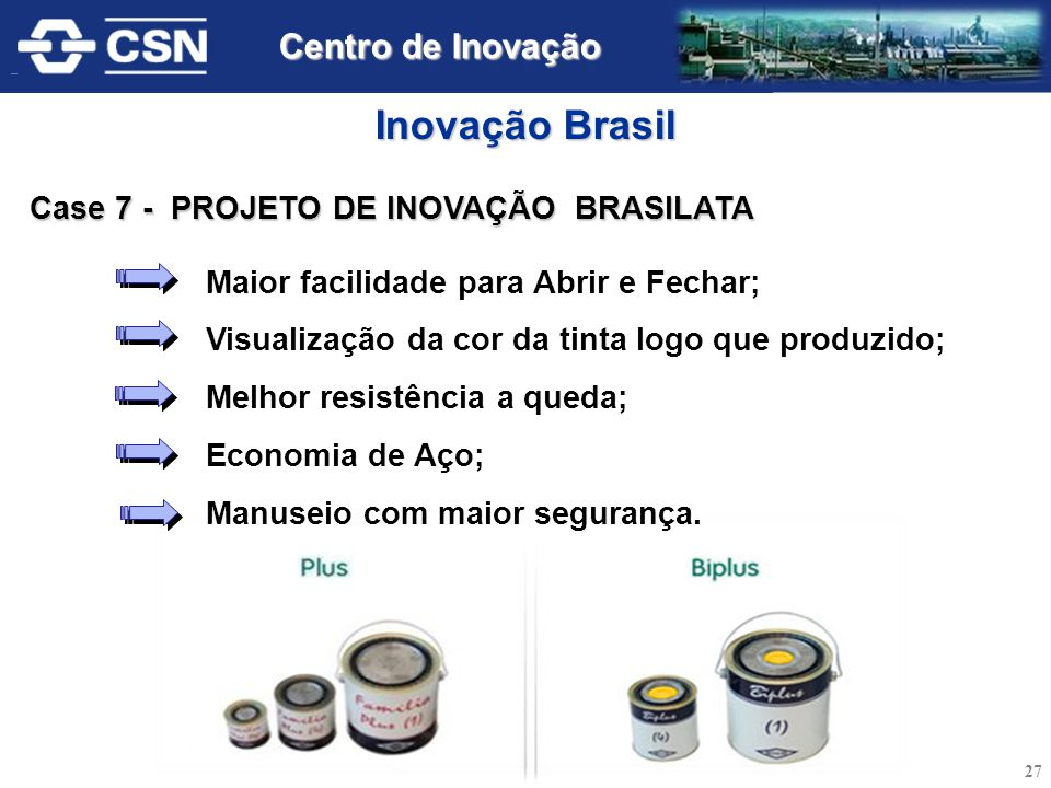 Inovação Brasil Centro de Inovação