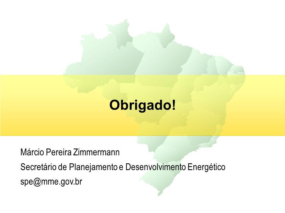 Obrigado! Márcio Pereira Zimmermann