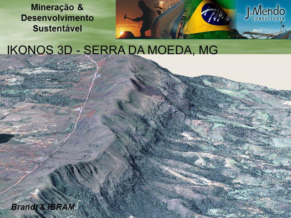 IKONOS 3D - SERRA DA MOEDA, MG