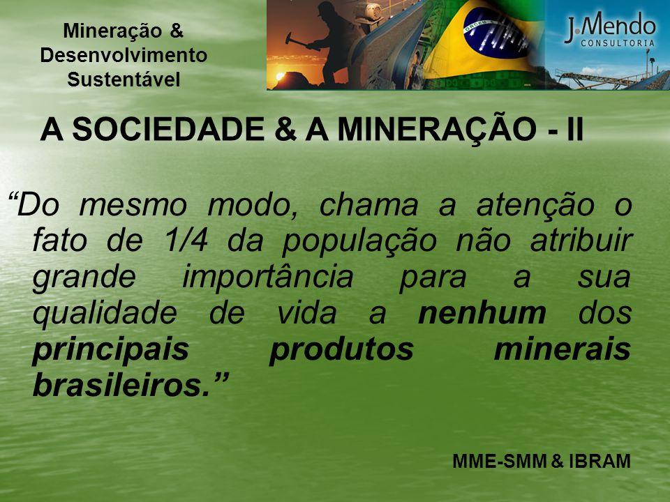 Mineração & Desenvolvimento