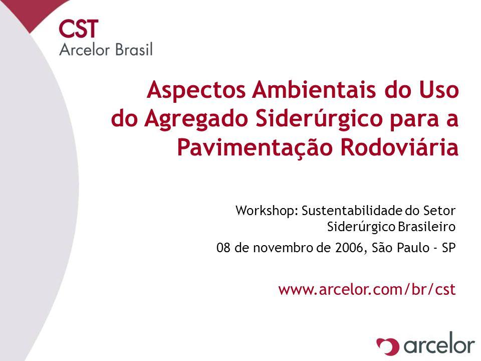 avril 17 Aspectos Ambientais do Uso do Agregado Siderúrgico para a Pavimentação Rodoviária.