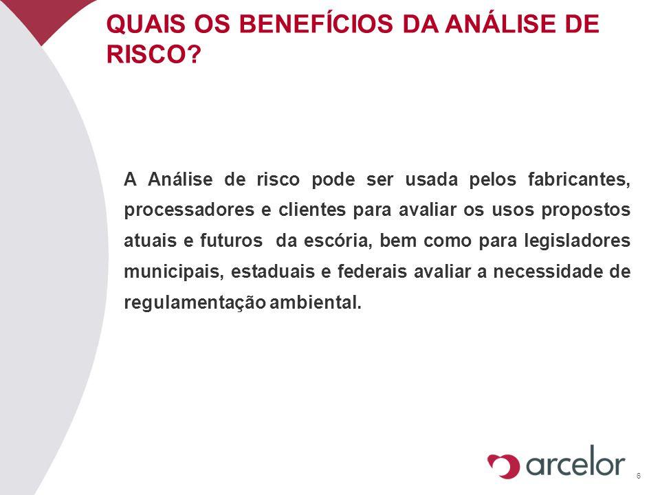 QUAIS OS BENEFÍCIOS DA ANÁLISE DE RISCO