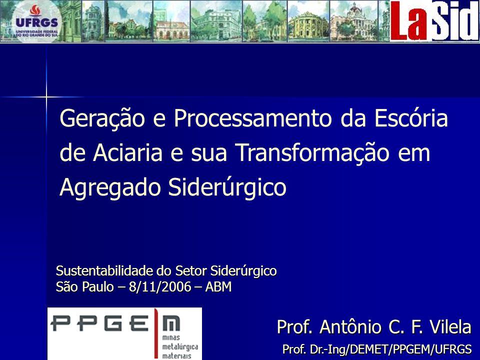 Geração e Processamento da Escória de Aciaria e sua Transformação em Agregado Siderúrgico