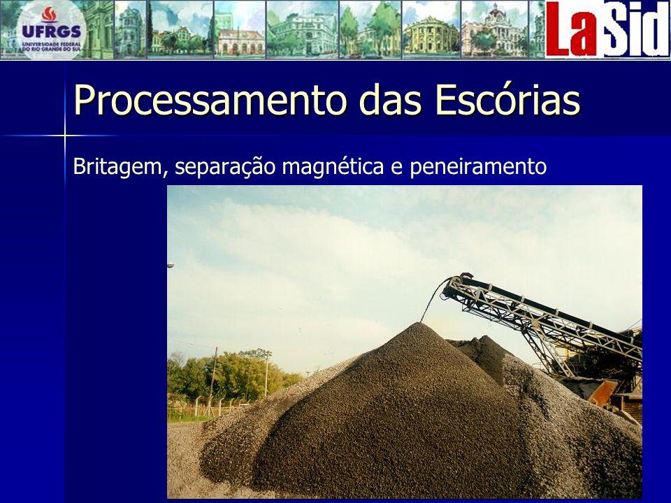 Processamento das Escórias